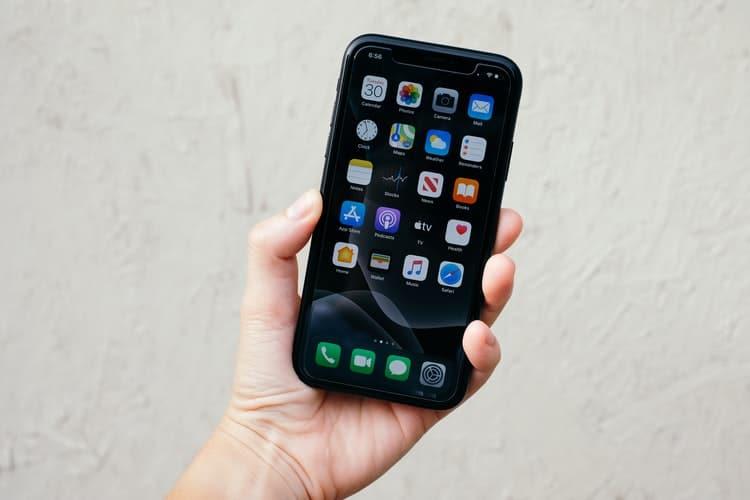 A smartphone screen.